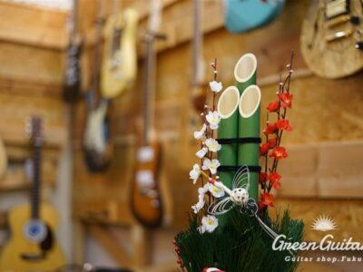 1月のGreen Guitars Topics