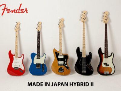【Fender】待望のシリーズ第二弾『Made in Japan Hybrid II』新発売