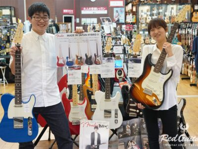 Fender Made in Japan Hybrid II シリーズ入荷!