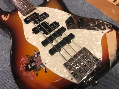【CUSTOMIZE】4弦ベース改造日記 自由奔放