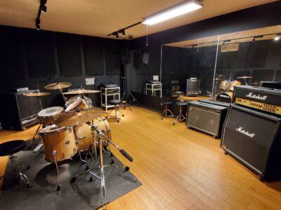 バンド練習スタジオのレンタル再開のお知らせ